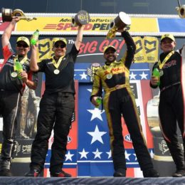 NHRA U.S. Nationals winners Indy 2017