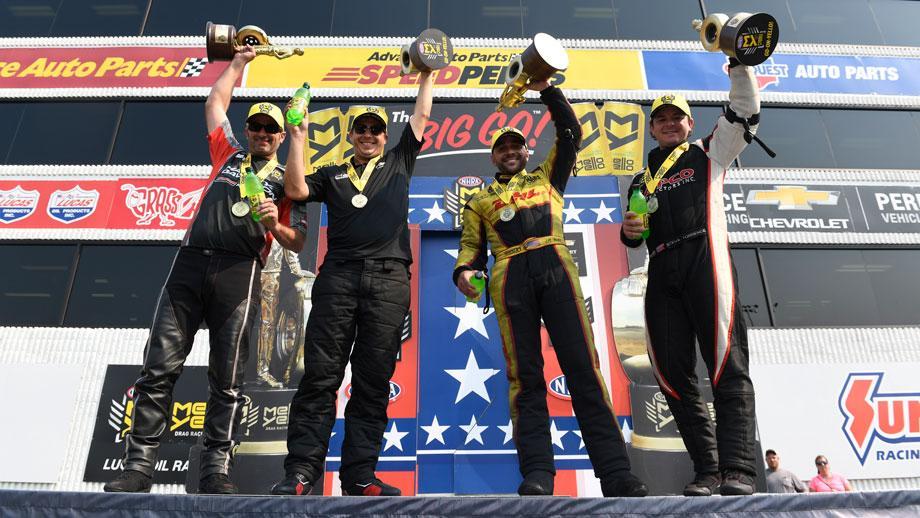 NHRA U.S. Nationals winners Indy 2017