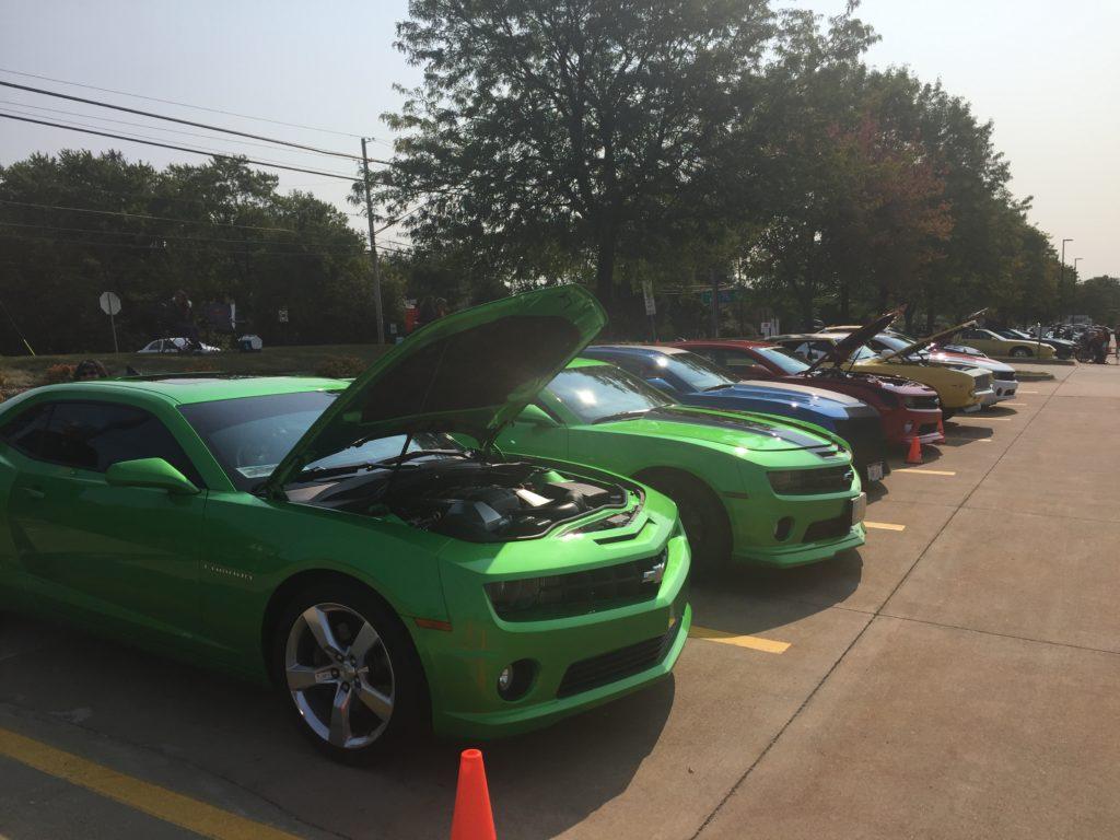 Camaros at Car Show