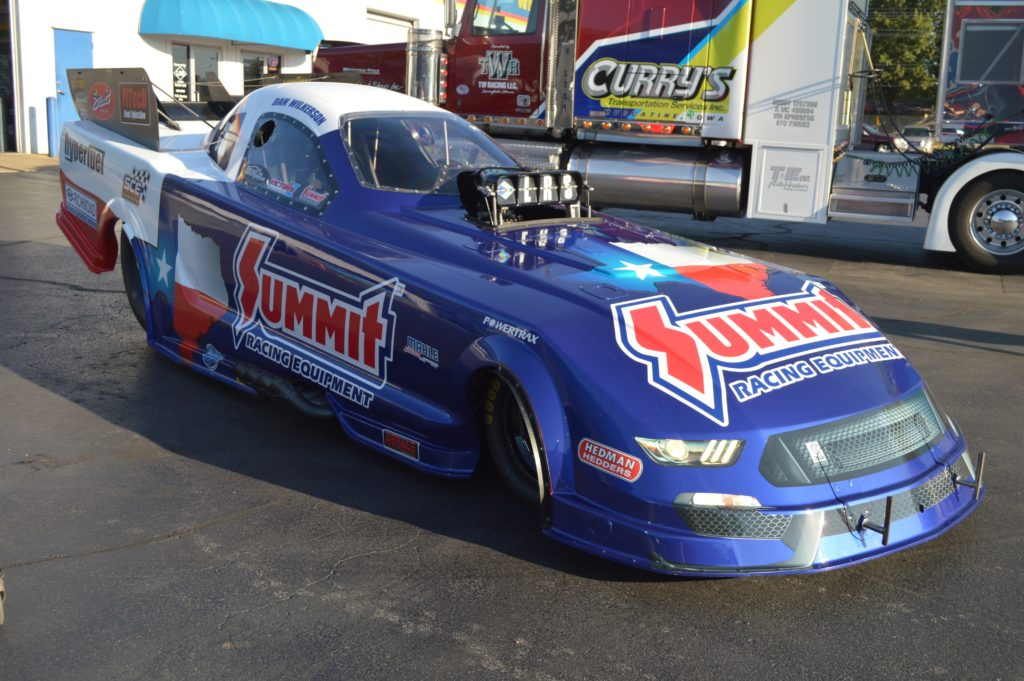 Dan Wilkerson NHRA Nitro Funny Car