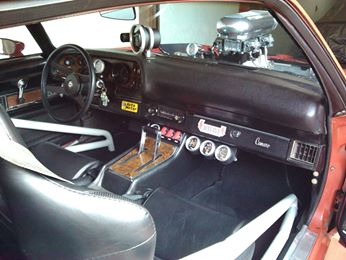 1971 Chevy Camaro Z/28, Cockpit