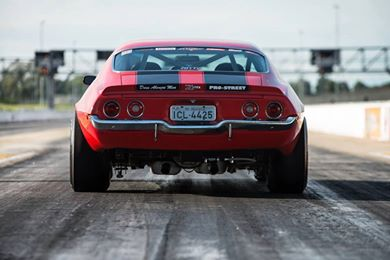 1971 Chevy Camaro Z/28, Rear