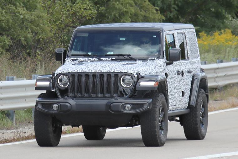 Spy Shots 2018 Jeep Wrangler Rubicon Onallcylinders