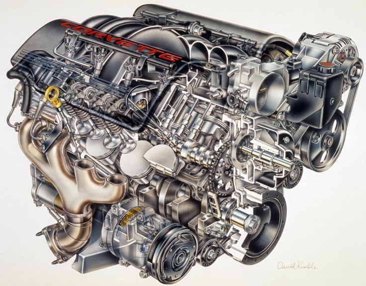 LS1 engine internal image