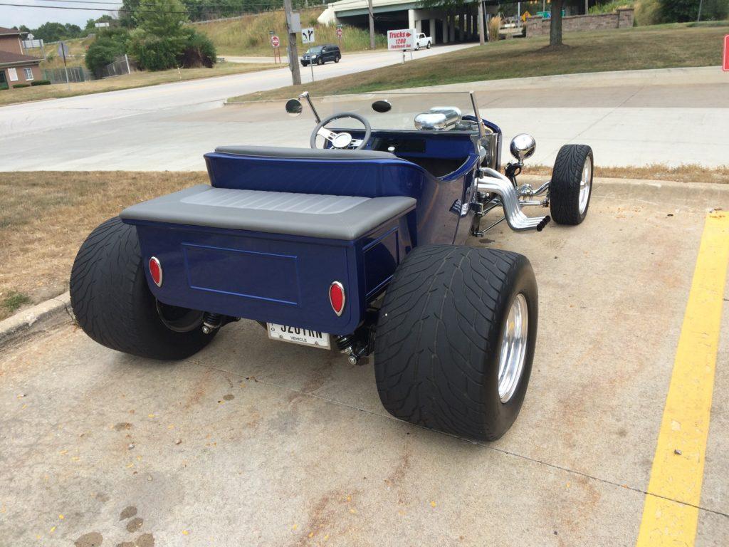 Ford T-Buckets, Blue, Rear