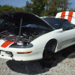 Need parts for a 30th-anniversary Chevy Camaro? You never know what you'll find at a junkyard.
