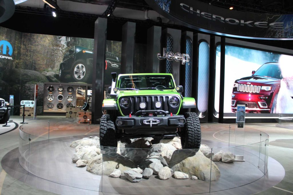 2018 Jeep Wrangler JL Parts & Vehicle Information ...