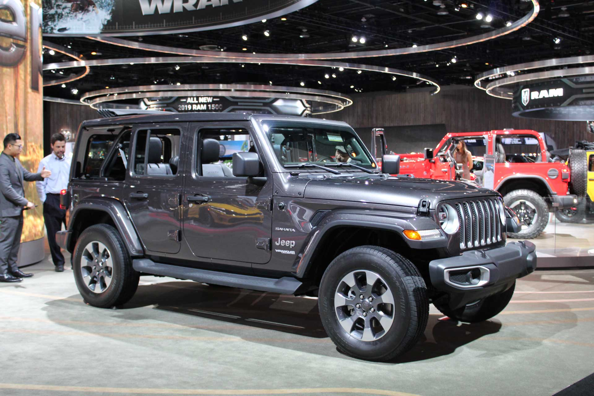 2018 Jeep Wrangler Detroit Auto Show Penger Side