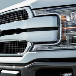 2018 Ford F-150 King Ranch grille (Image/Digital Trends)