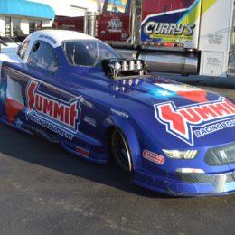 Dan Wilkerson's Funny Car Front