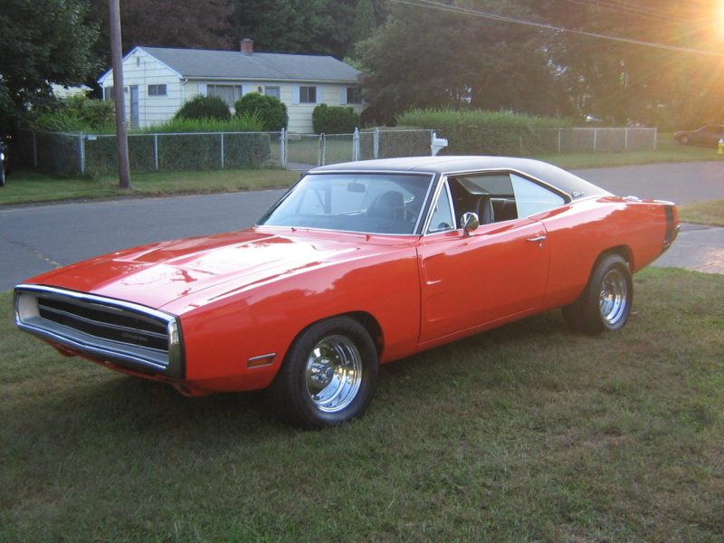 1970 dodge charger red