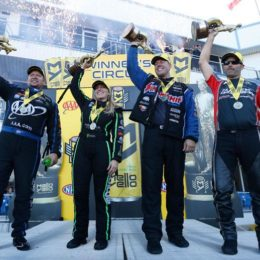 2017 NHRA Texas FallNationals Winners
