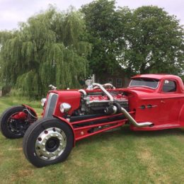 Top Fan Ride of September: Frans' V16 Detroit Diesel Hot Rod