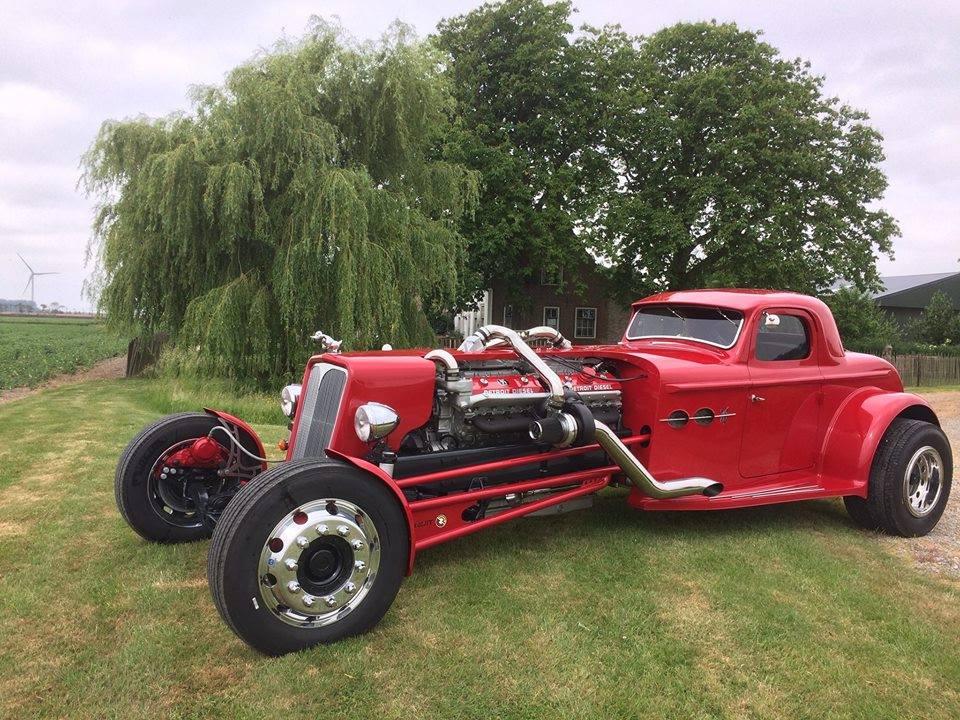 Frans' V16 Hot Rod