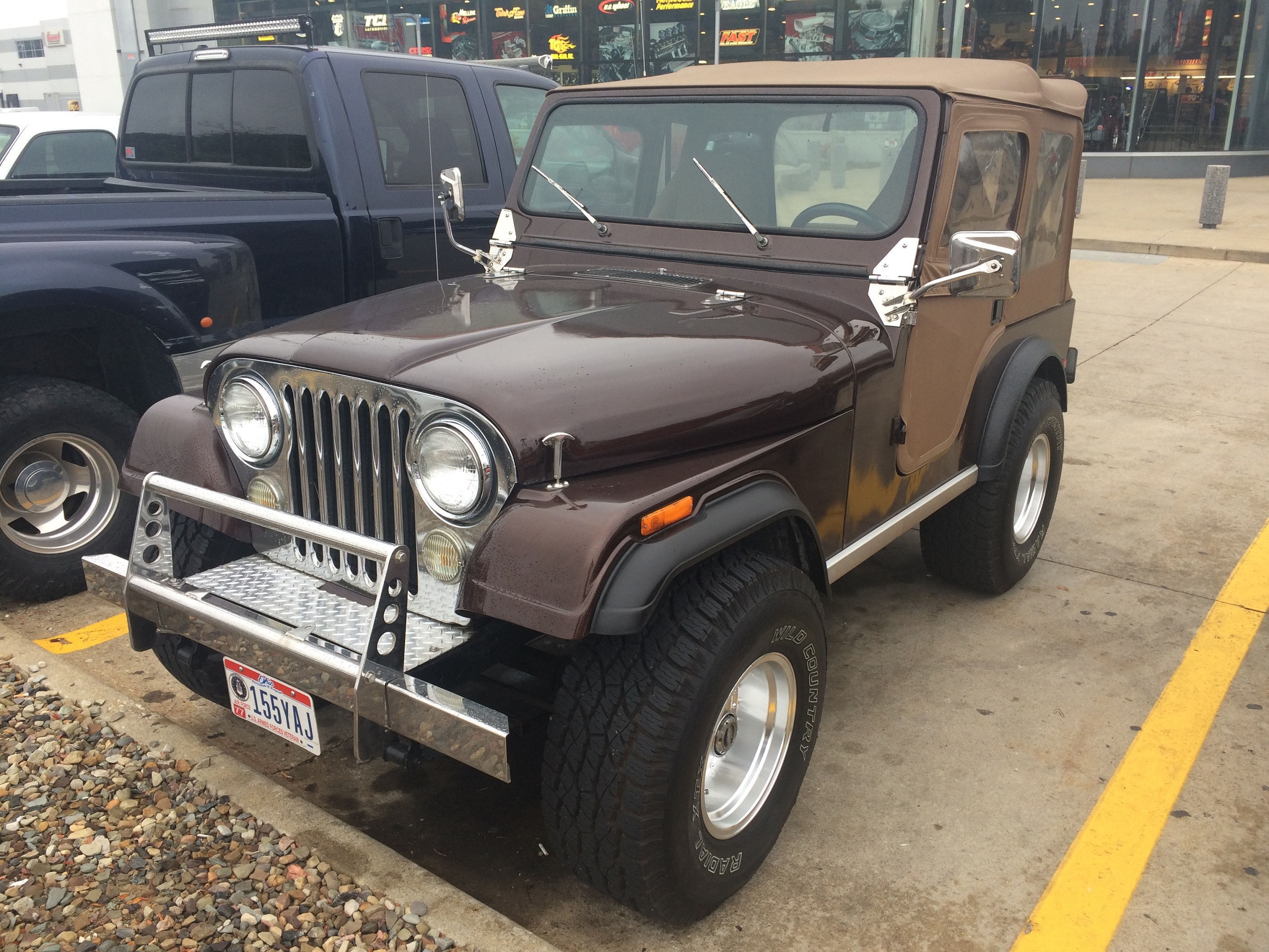 1977 Jeep CJ-5, Front Driver's Side