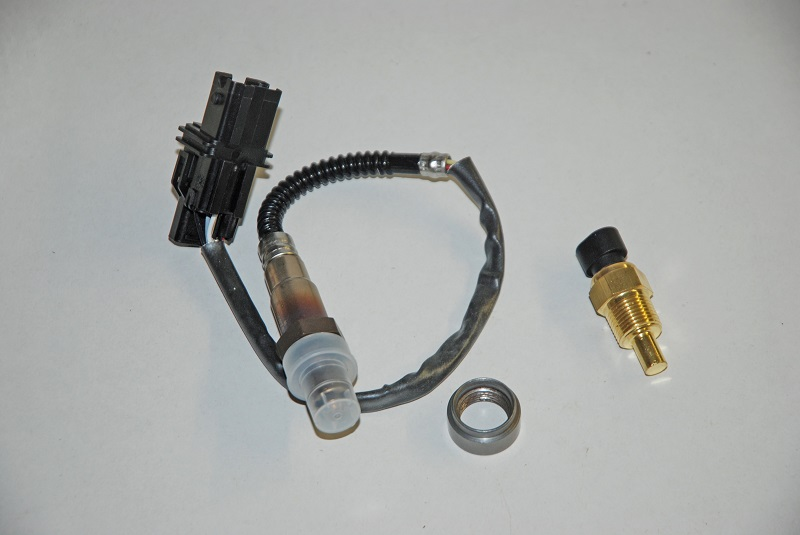 MSD Atomic EFI O2 sensor and water temp sensor