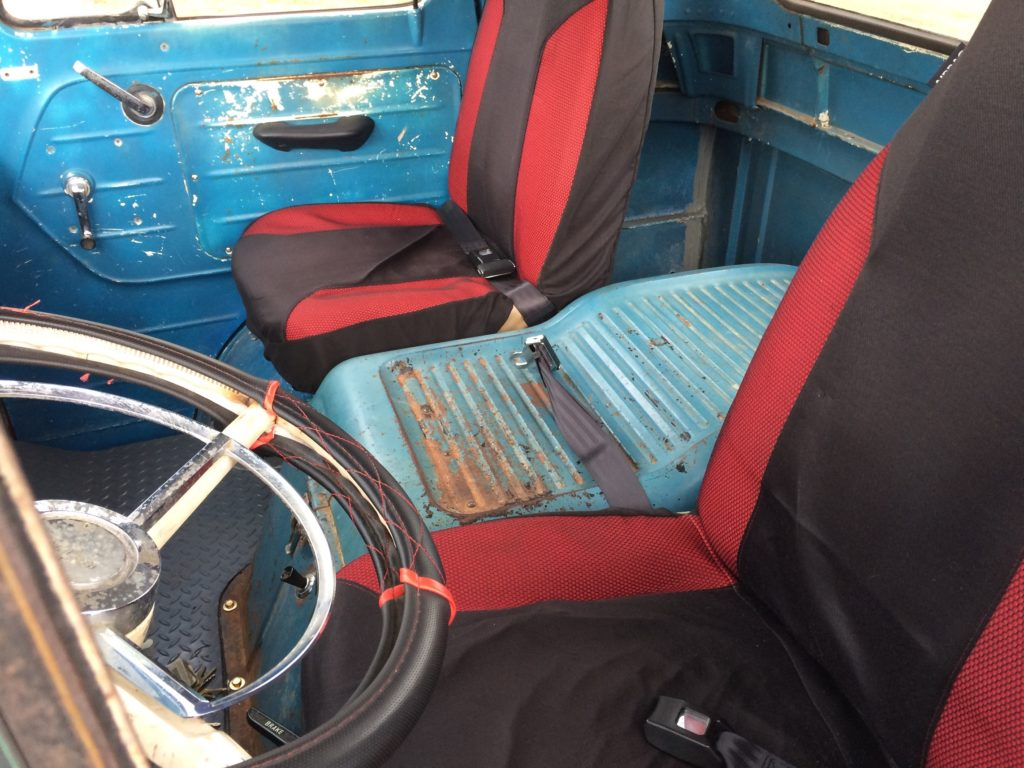 1961-63 Ford Econoline Doghouse