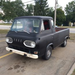 1961-63 Ford Econoline Truck, Front Driver Side