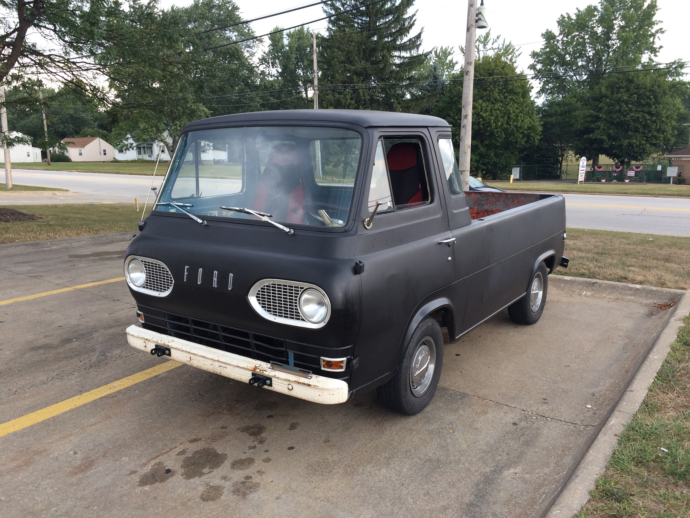1961 63 Ford Econoline Truck Front Driver Side