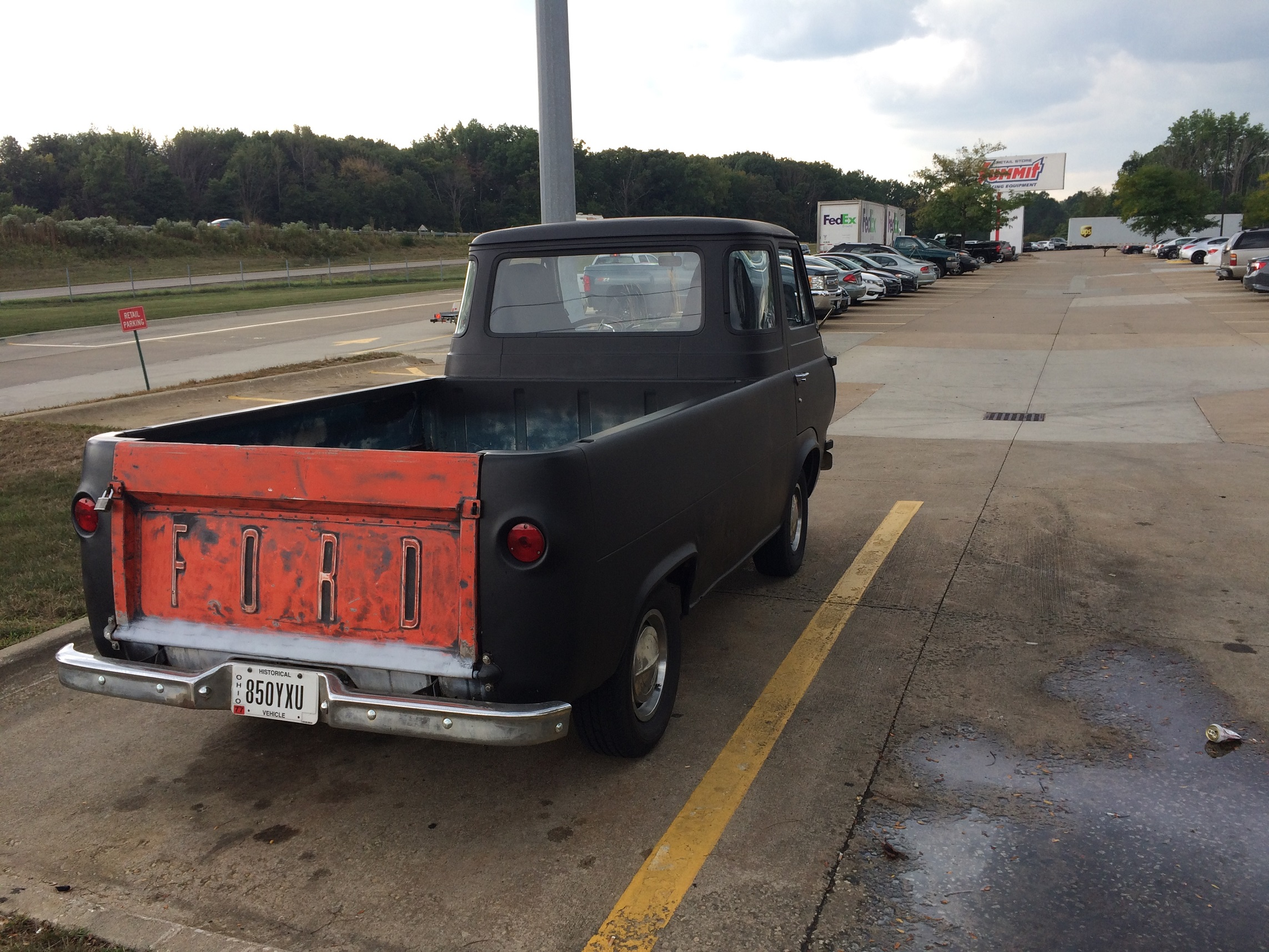 Lot Shots Find Of The Week Ford Econoline Pickup Truck Onallcylinders 1961 63 Bed
