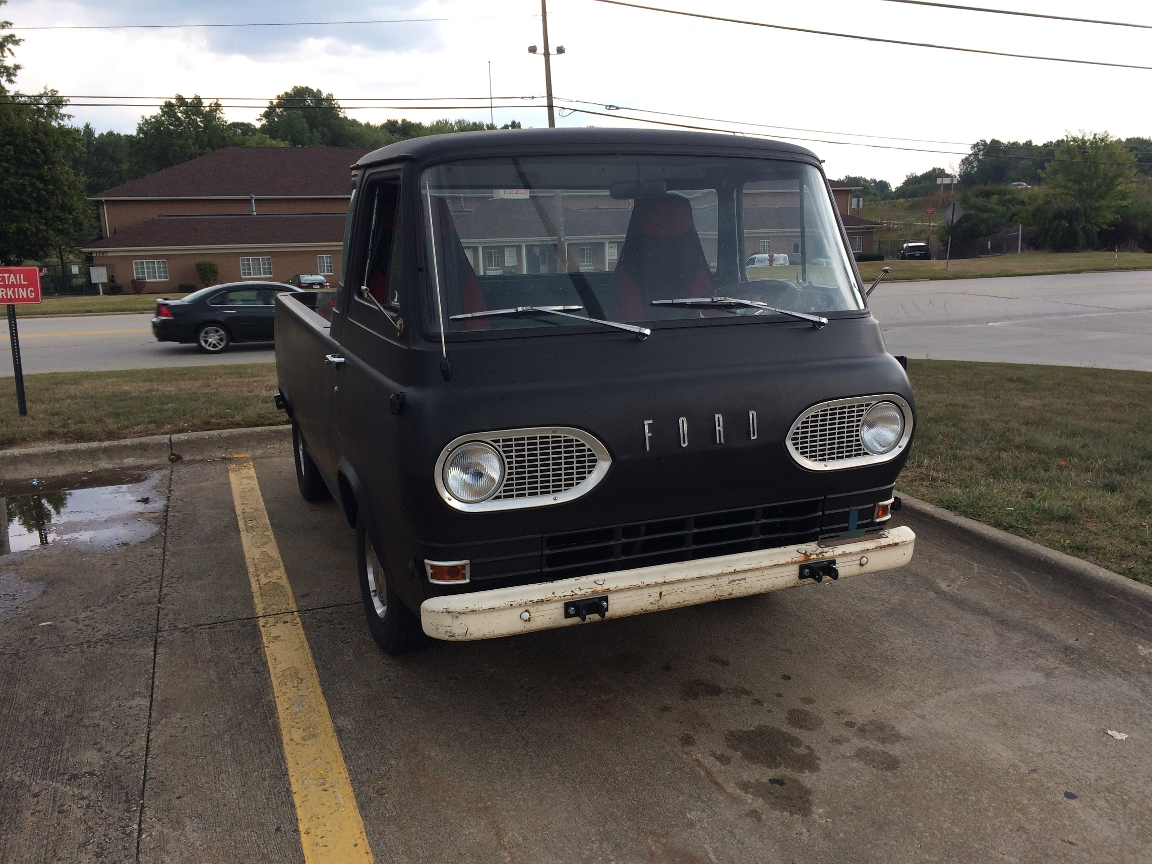 1961 63 Ford Econoline Grille
