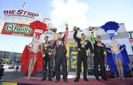 NHRA Wrap-Up: Anderson, McMillen, Hagan, and Krawiec Victorious at NHRA Toyota Nationals