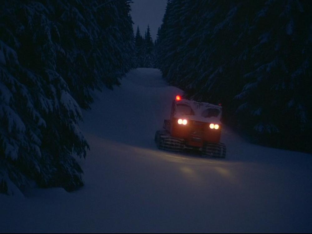 Snow Cat - the Shining