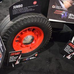 "Wheel Vintiques Shows Off  New Throwback-Style ""Jumbo"" Wheel at SEMA 2017"