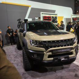 Video: Chevrolet Unveils New Trucks at SEMA 2017 Press Conference