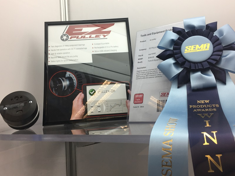 EZ PULLEY SEMA 2017 New Product Award winner
