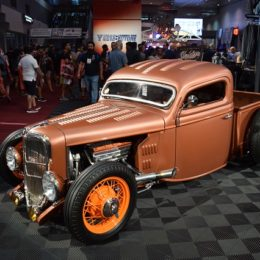 SEMA Quick Feature: Robert Lopez's 1936 Ford Pickup