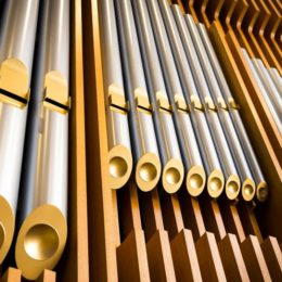 Pipe organs use varying lengths and diameters of pipe to harmonize several sounds to make music. Borla's new exhaust technology is designed to emulate that. (Image/Dallas Morning News)