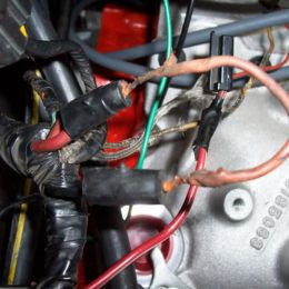This fusible link did its job. It overheated and broke the electrical connection before any critical parts could be damaged. (Image/CorvetteForum.com)