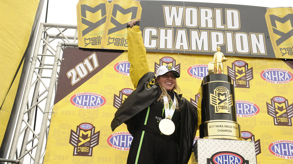 Brittany Force NHRA Top Fuel champion 2017