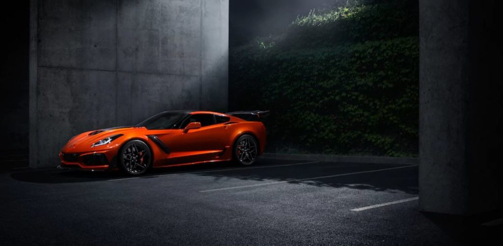 Corvette ZR1 Sebring Orange