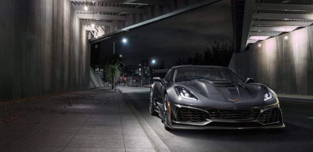 Corvette ZR1 with New Grille