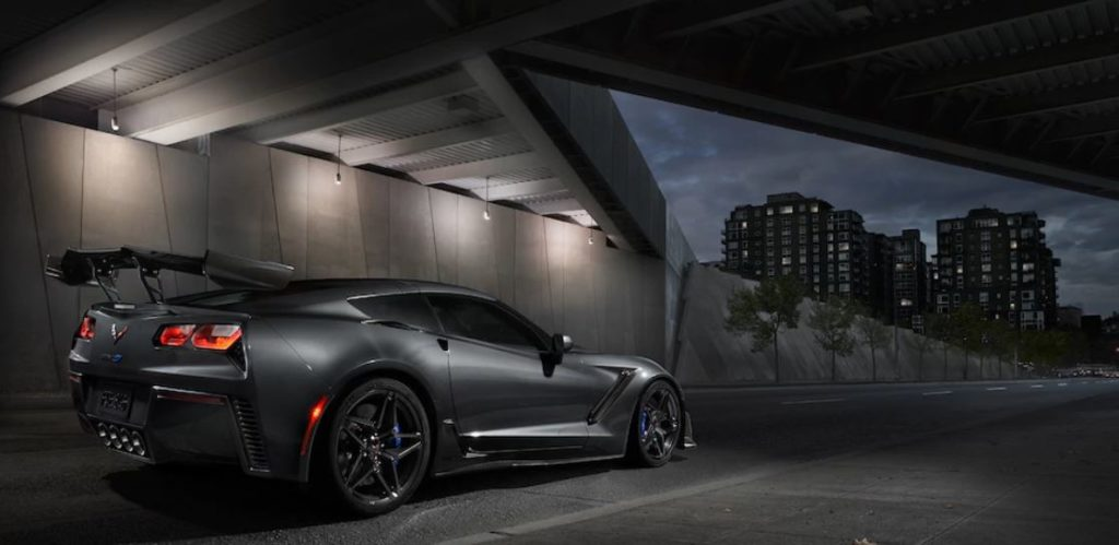 Corvette ZR1 with Rear Wing