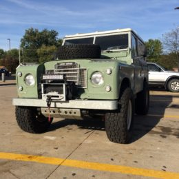 Land Rover Series 3, Low Front