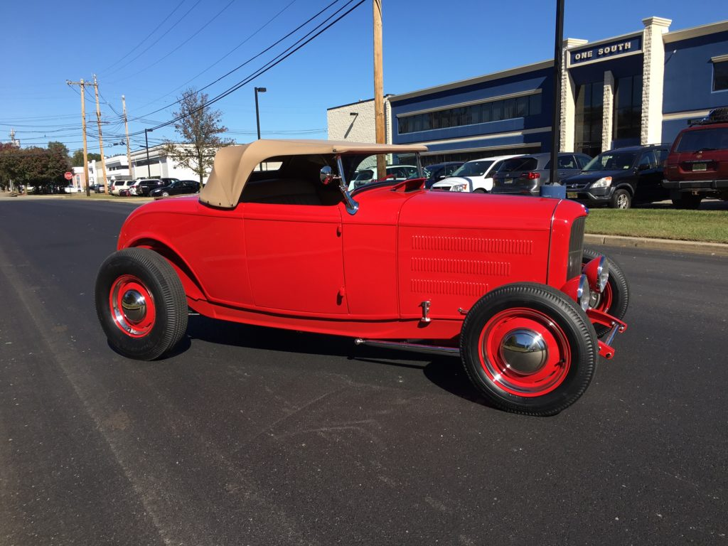 1932 Ford Roadster, Red POR-15 Exterior