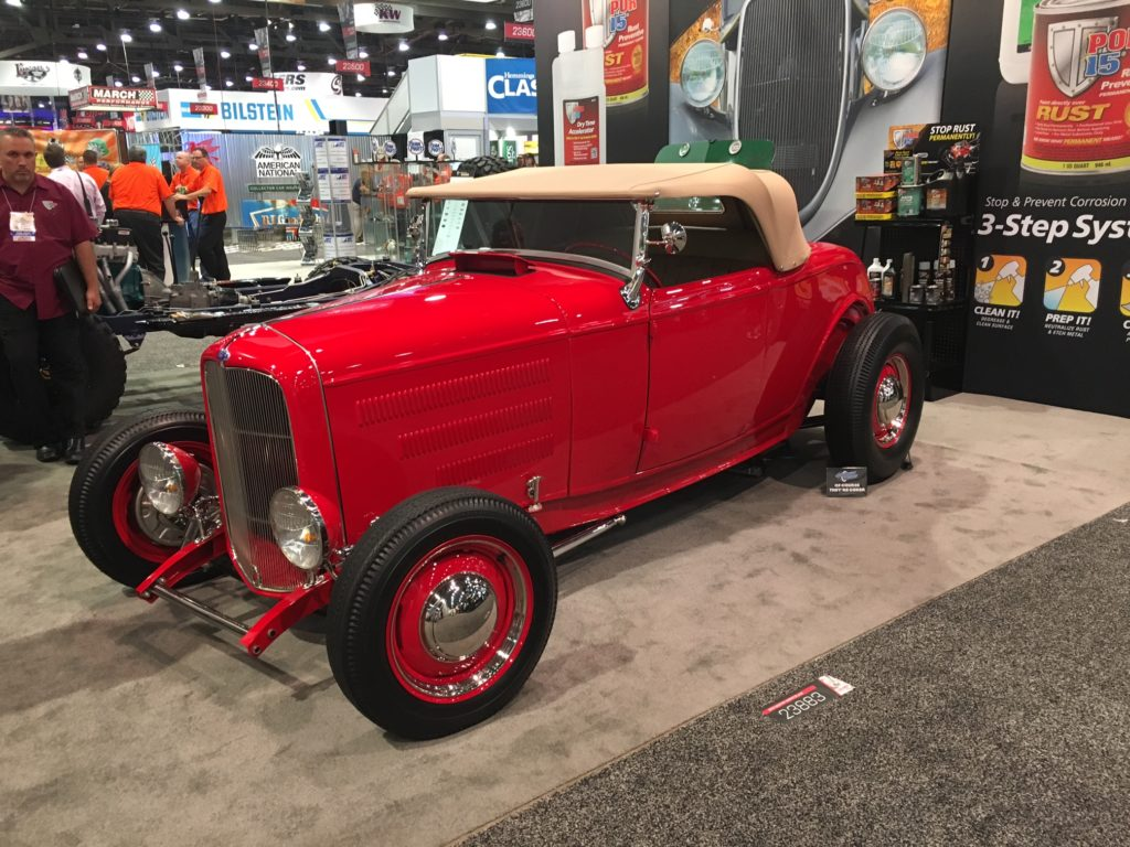 1932 Ford Roadster, Red POR-15 at SEMA