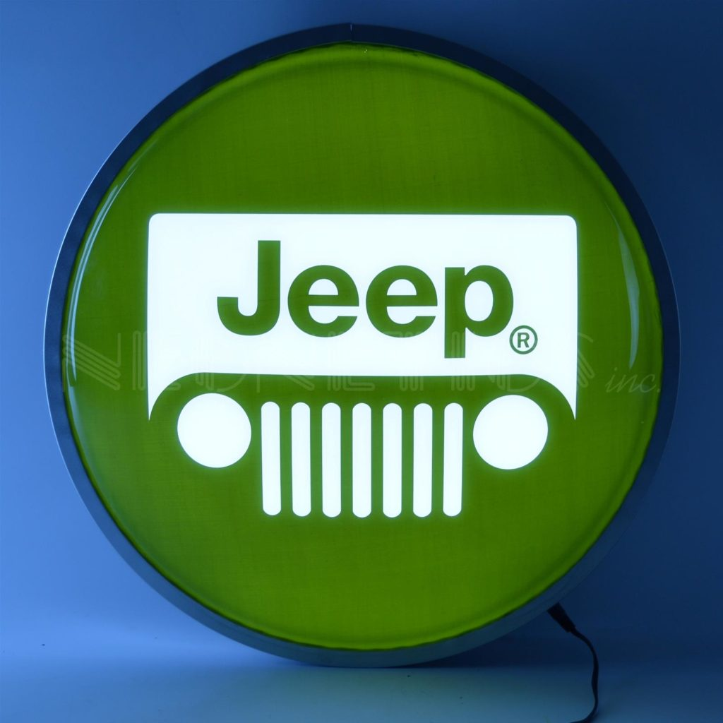Jeep LED Sign