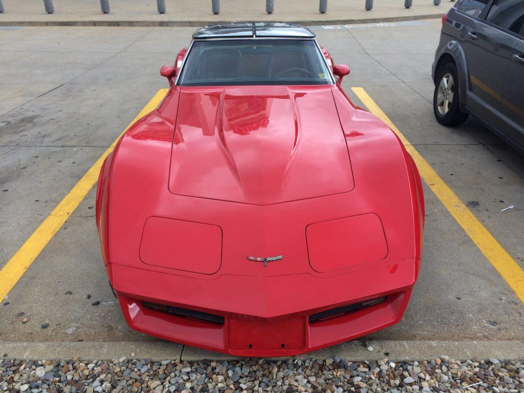 1980 Corvette Head On