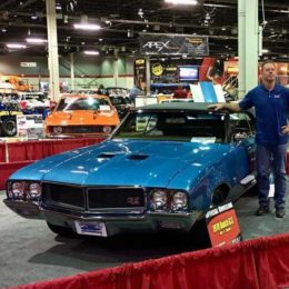 Jason Line Unveils Rare Restored Buick at Muscle Car and Corvette Nationals