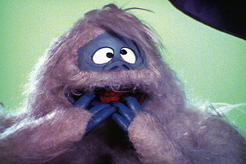 bumble from rudolph tv special