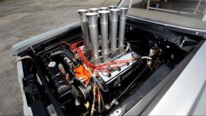 1965-Dodge-Hemi-Coronet-A-FX engine