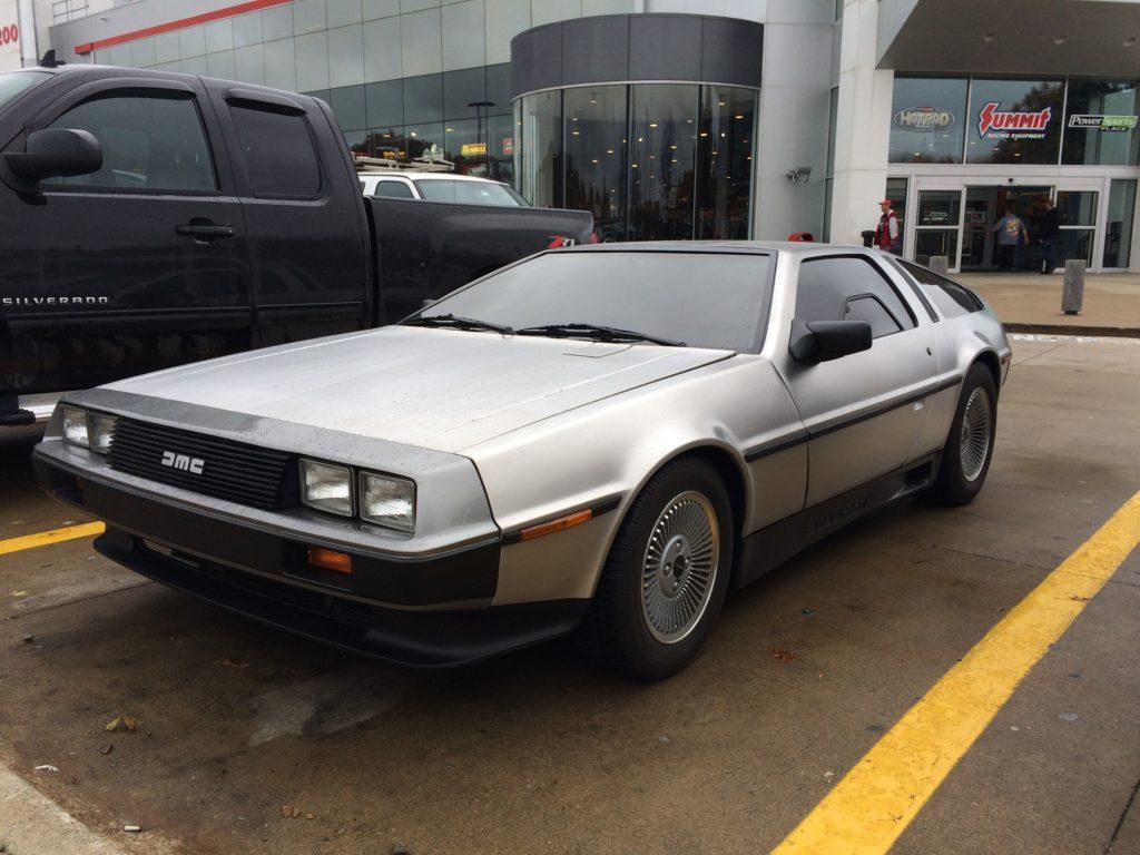 1981 DeLorean DMC 12 drivers side