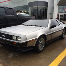 1981 DeLorean DMC 12 drivers side