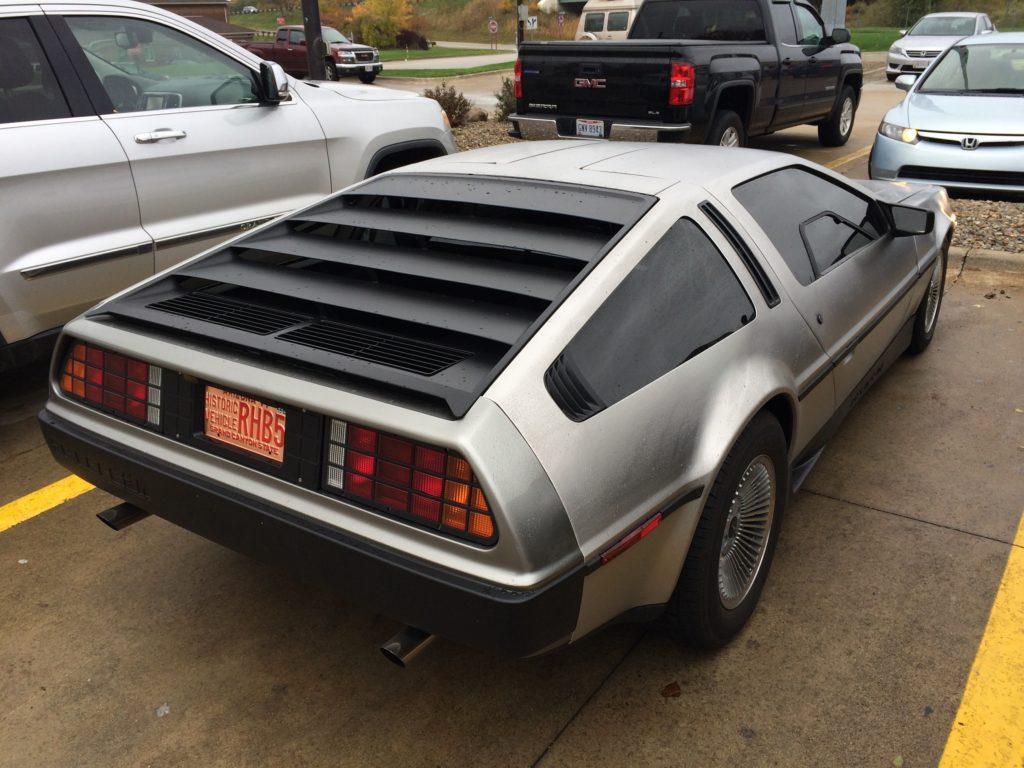 1981 DeLorean DMC 12 rear passenger side