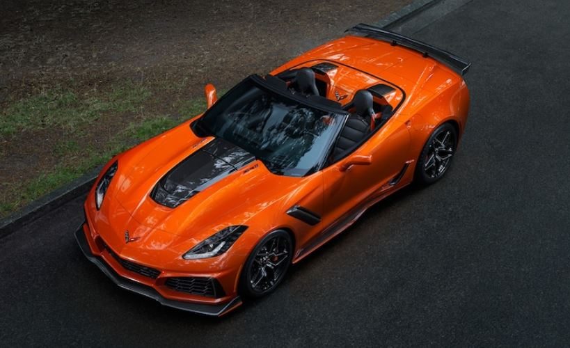 Chevy Corvette ZR1 Convertible