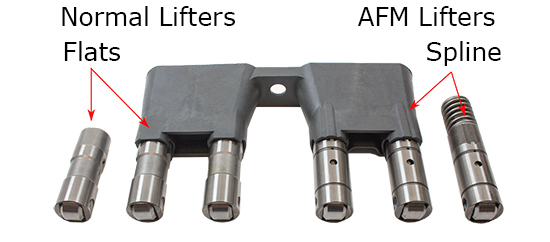 LS - AFM lifters labeled